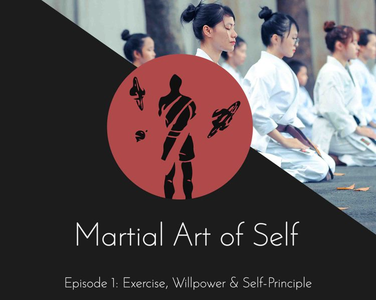 Exercise, Willpower & Self-Movement Principle. Martial Art of Self Martial Arts Podcast Episode 1