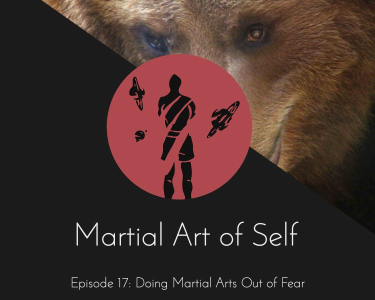 Doing Martial Arts out of fear. Martial Art of Self Martial Arts Podcast Episode 17